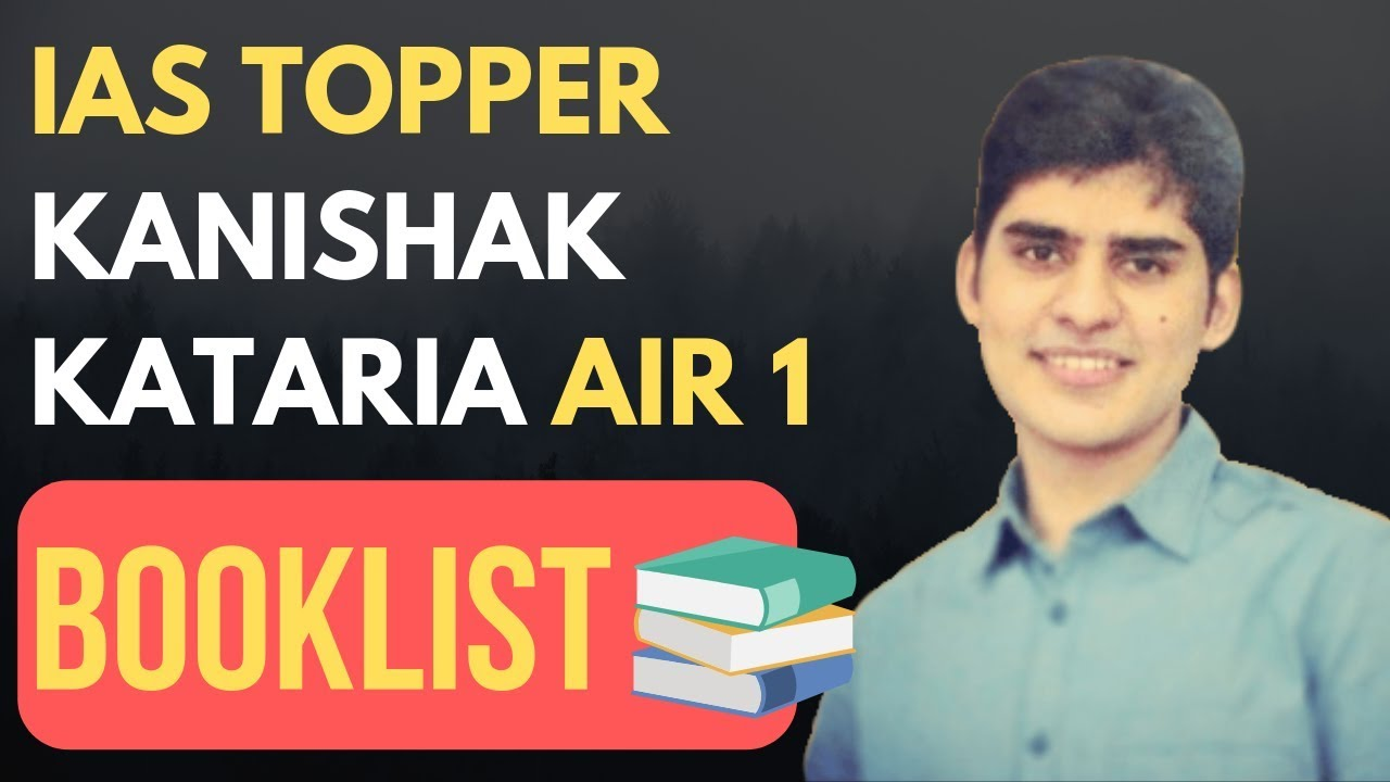 UPSC Topper] Kanishak Kataria (AIR 1/ UPSC-CSE-2018) Mathematics