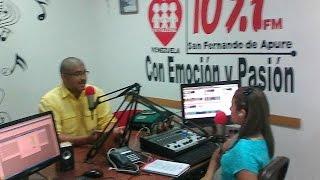 Entrevista en Radio Fe y Alegria. Gabriands Pereira. Hora legal...