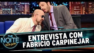 The Noite 15/07/14 (parte 1) - Fabricio Carpinejar