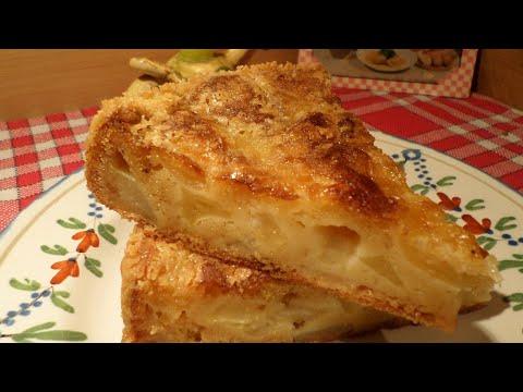 """recette-facile-:-gâteau-normand-pomme---poire-""""tantine""""-à-l'ancienne---canal-gourmandises"""