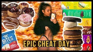 I Ate Whatever I Wanted For A Day | Epic Cheat Day #20
