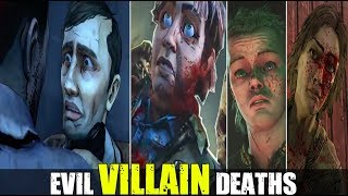 DEATHS of the Most Evil Villains In The Walking Dead Series (2012-2019)