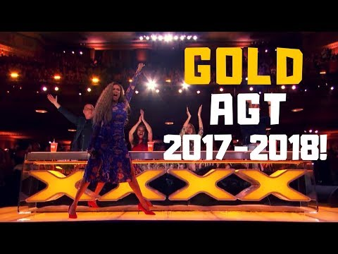 Top 10 BEST  GOLDEN BUZZERS  AUDITIONS EVER ON America's Got Talent 2017 - 2018!