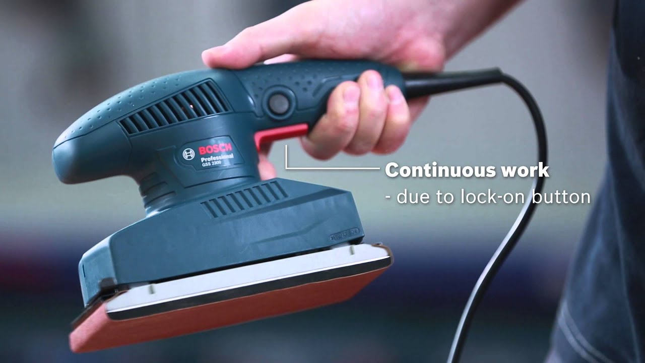 Download Bosch Orbital Sander   Power Cordless Sander   GSS 2300 Professional