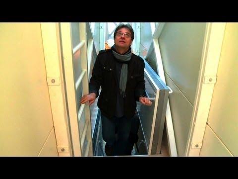 Höchstens 1,22 m zum Austoben - im schmalsten Haus der Welt