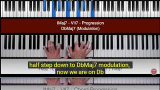08 Piano Passing Notes  The 6th Diminished Jazz Scale