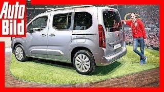 Opel Combo Life (2018) Details/Review/Erklärung