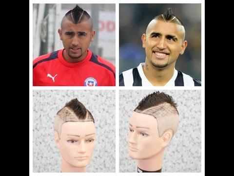 Arturo Vidal Haircut Tutorial