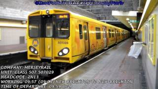 Season 8, Episode 291 - Trains at Conway Park station