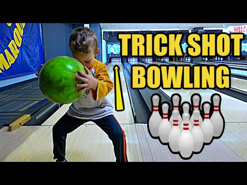 Bowling TRICK SHOT