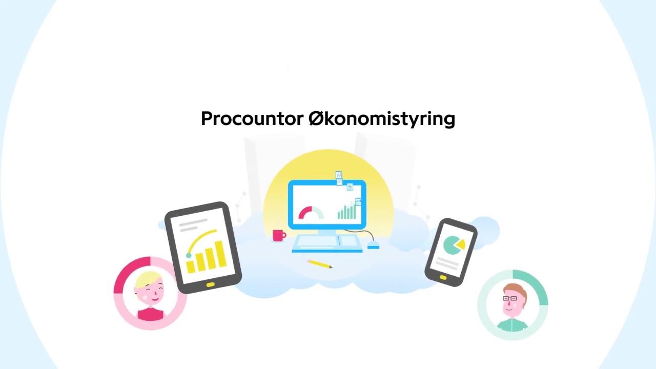 Procountor Okonomistyring Kort Youtube