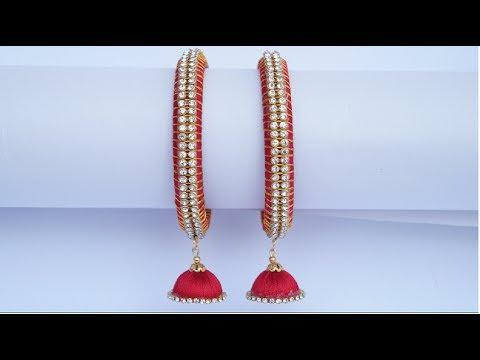 Silk Thread Jhumka Bangles (Eng Sub)