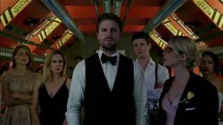 Arrow 6x08 Opening scene Earth X Prometheus identity revealed