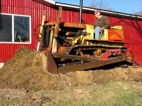 hqdefault allis chalmers hd 7 bulldozer dozing youtube Allis Chalmers B Wiring at nearapp.co