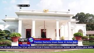 Jelas KTT Ulama, Presiden Jokowi Bertemu Imam Besar Al Azhar Kairo  -NET5