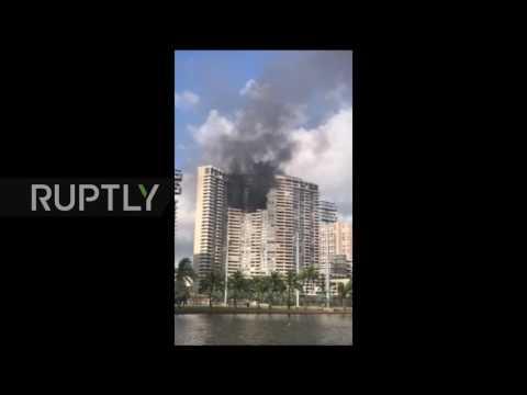USA: Fire breaks out in Honolulu high-rise, 3 confirmed dead