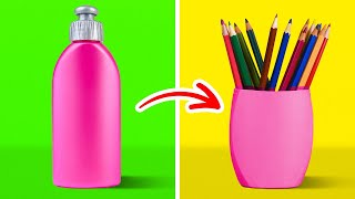 34 PLASTIC BOTTLE CRAFTS YOU'LL WANT TO MAKE    Plastic Recycling Ideas by 5-Minute DECOR