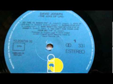 David Joseph - Baby Won't You Take My Love (The Joys Of Life LP Version)