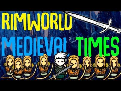 Medieval Times! Rimworld Mod Showcase