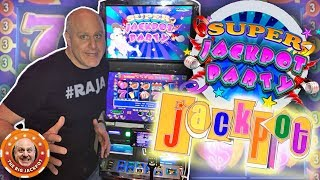 🎉Let's Get This Party Started! 🎉2 HANDPAY$! 🎰Super Jackpot Party | The Big Jackpot