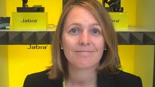 Sarah Gray from Jabra talks about the new Link 850 at Call Centre Expo 2012