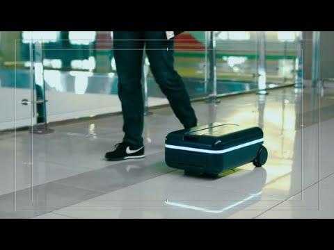 Bu valiz sizi takip ediyor!