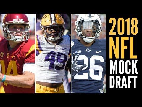 2018 NFL Mock Draft 1.0: Sam Darnold * Arden Key * Saquon Barkley