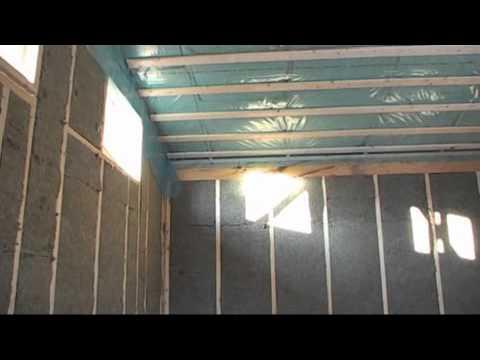 Отделка деревянного дома гипсокартоном фото, видео Как
