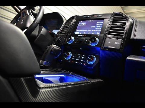 2016 F150 ROUSH TRUCK!! CARBON FIBER 3M 1080 CUSTOM INTERIOR WRAP. GREAT IDEAS FOR YOUR RIDE!!