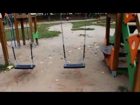 """Детская площадка """"Наш двор"""" в г.Королев - плюсы и минусы.из YouTube · Длительность: 5 мин14 с"""
