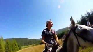 Bieszczady rajd konny  2015 - HD - Horse trekking in the Bieszczady mountains