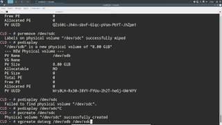 Quelques explications et manipulations avec LVM sous Linux