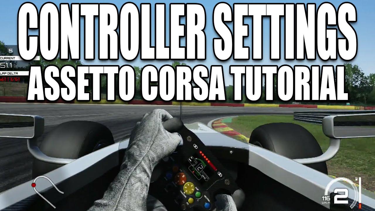 Assetto Corsa Xbox One Ps4 Controller Settings Setup Tutorial 2016