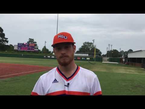 Junior RHP Adam Oller discusses his six shutout innings Thursday against Abilene Christian.