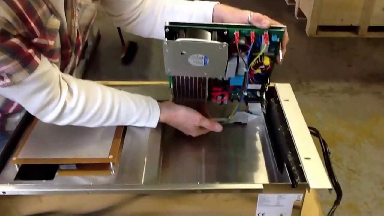 Changing The Internal Fuse On A Table Top Induced Energy