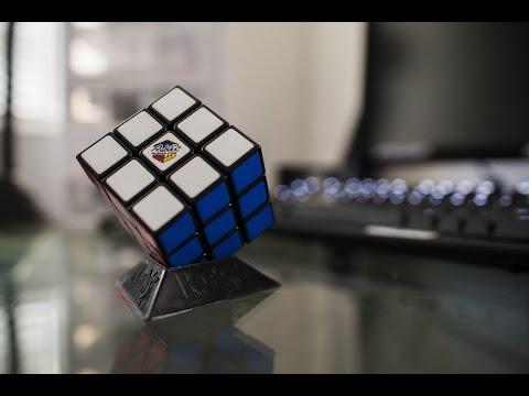 Rubik's Cube Time Lapse Solve