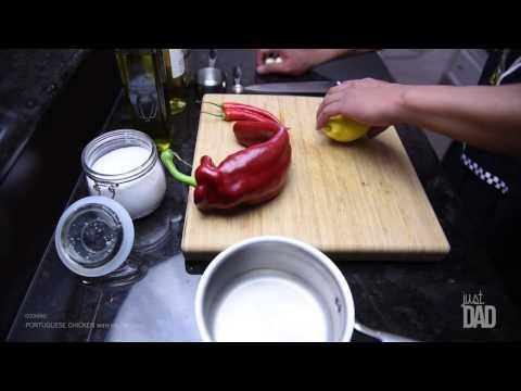 Just Dad - Cooking Portuguese Chicken with Piri Piri Sauce