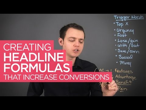 Creating Headline Formulas & Calls to Action that Convert for Your Business