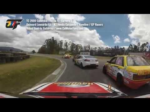 TC 2000 Colombia 2015 - Onboard Leonardo Gil - Fecha 5 carrera 2