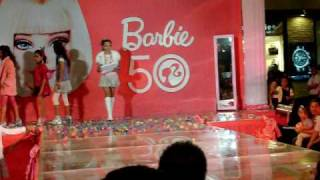 Maria Ayumi Shimizu at BARBIE Fashion Show at SM City Cebu, Northwing