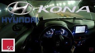 Hyundai Kona 1.6T POV Night Test Drive | 4K |