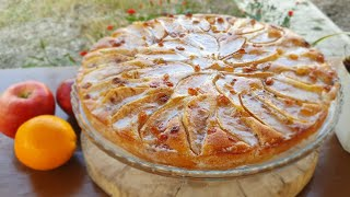 VERY EASY AND DELİCİOUS APPLE CAKE RECİPE.ƏN LƏZZƏTLİ VƏ ASAN ALMALI PİROQ