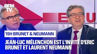Jean-Luc Mélenchon face à Éric Brunet et Laurent Neumann - 10/07