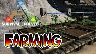 Ark Survival Evolved Xbox One - Farming - 5 Minute Tutorial