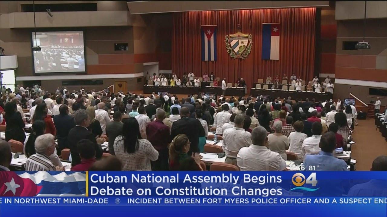 Legislators In Cuba Start Making Changes