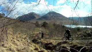 Loch Etive, Scotland - Looping the Loch on Fat Bikes