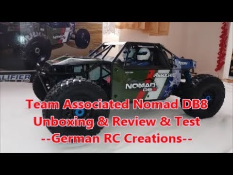 Team Associated Nomad DB8 Limited Edition: Unboxing & Review & Test / DB8 - ein alter Hut, aber gut!