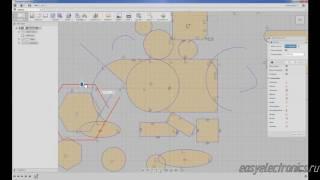 Autodesk Fusion 360. Эскизы. Интерфейс.