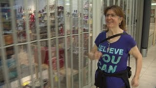 New Brunswick woman loses 240 pounds running at Fredericton mall