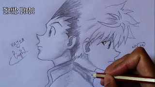 Drawing Gon And Killua